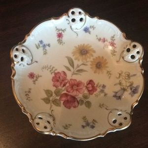 Antique Dresden Porcelain China Dish Germany